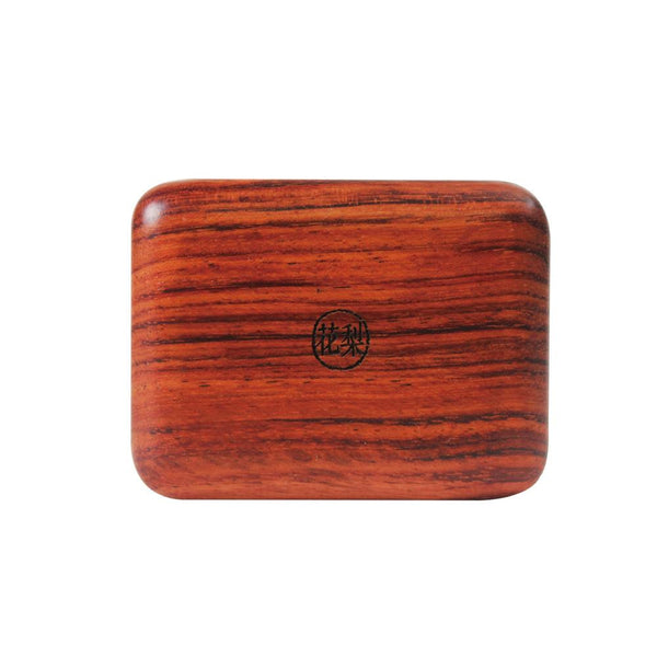 Wooden Travel Soap Case (Rosewood) 自在隨身皂盒-花梨