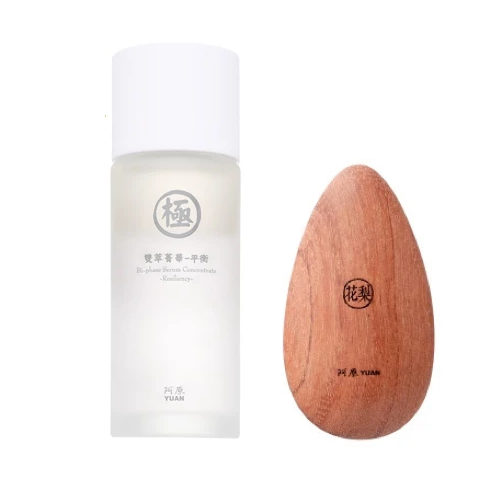 Bi-phase Serum Concentrate-Resiliency + Massage Wood- Rosewood