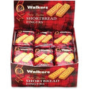 Walkers Office Snax Walker's Shortbread Cookies - Individually Wrapped - Butter - 24 / Box