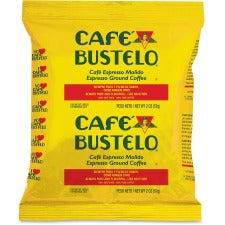Café Bustelo® Espresso Blend Coffee - Regular - Espresso Blend - Dark - 2 oz - 30 / Carton