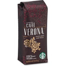 Starbucks Caffe Verona Dark Roast Coffee - Caffé Verona, Arabica - Dark - 16 oz - 1 Each