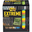 "Post-it® Extreme Notes - 3"" x 3"" - Square - 45 Sheets per Pad - Multicolor - Self-adhesive - 540 / Pack"