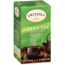 Twinings Green Tea - Green Tea - 25 Cup - 25 / Box