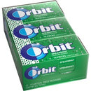 Orbit Spearmint Sugar-free Gum - 12 packs - Spearmint - Individually Wrapped - 12 / Box