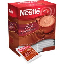Nestle® Rich Hot Chocolate Packets - Powder - Hot Chocolate, Cream Flavor - 0.71 oz - 50 / Box