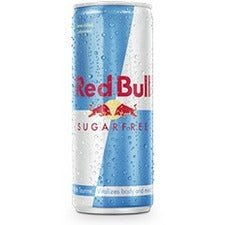 Red Bull Sugar-free 8.4Oz Cans. 24/Ct - Diet - 8.40 fl oz (248 mL) - 24 / Carton