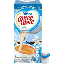 Nestlé® Coffee-mate® Coffee Creamer French Vanilla - liquid creamer singles - French Vanilla Flavor - 0.38 fl oz (11 mL) - 200/Carton - 1 Serving