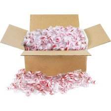 Office Snax Old-fashioned Peppermint Puffs - Peppermint - Individually Wrapped, Fat-free - 10 lb - 1 / Box