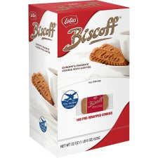 Biscoff Individual Cookies Dispenser - Individually Wrapped - Caramel - 100 / Box