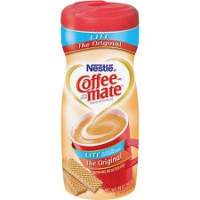 Nestlé® Coffee-mate® Coffee Creamer Original Lite - 11oz Powder Creamer - Original Lite Flavor - 0.69 lb (11 oz) Canister - 1Each