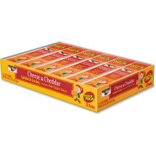 Keebler&reg Cheese Crackers with Cheddar Cheese - Cheddar Cheese - 1.80 oz - 12 / Box