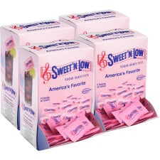 SWEET'N Low Sugar Substitute Packets - Packet - 0 lb (0 oz) - Artificial Sweetener - 1600/Carton