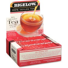 Bigelow Premium Blend Ceylon Black Tea - Black Tea - 100 / Box