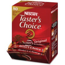 Nescafe Taster's Choice House Blend Coffee Packets Instant - House Blend - 0.1 oz Per Packet - 80 Stick - 80 / Box