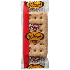 Keebler&reg Wheat Crackers - Wheat - Packet - 2 - 300 / Carton