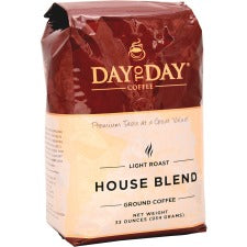 PapaNicholas Day To Day House Blend Coffee Ground - Compatible with Drip-coffee Brewer - Regular - Day To Day House Blend - 33 oz - 1 Each