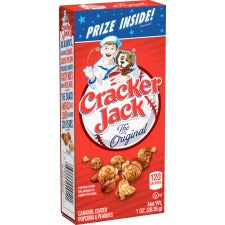 Quaker Oats Cracker Jack Original Popcorn Snack - Original - Box - 1 oz - 25 / Carton