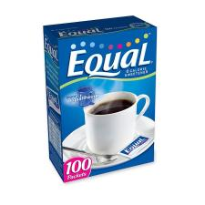 Classic Coffee Concepts Equal Sugar Substitute - Packet - Artificial Sweetener - 100/Box