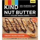 KIND Nut Butter Snack Bars - Gluten-free, Trans Fat Free, No Artificial Flavor, No Artificial Color, Preservative-free - Creamy Peanut Butter - 1.30 oz - 4 / Box