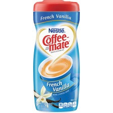 Nestlé® Coffee-mate® Coffee Creamer French Vanilla - 15oz Powder Creamer - French Vanilla Flavor - 0.94 lb (15 oz) Canister - 1Each