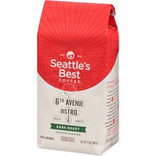 Starbucks 6th Avenue Bistro Whole Bean Coffee Whole Bean - Signature Blend - Medium/Dark - 12 oz - 1 Each