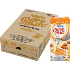 Nestlé® Coffee-mate® Coffee Creamer Hazelnut - liquid creamer singles - Hazelnut Flavor - 0.38 fl oz (11 mL) - 200/Carton - 50 Per Box - 1 Serving