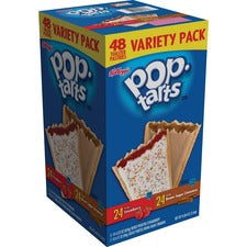 Pop Tarts Pop-tarts Variety Pack - Assorted - 2.69 lb - 48 / Box