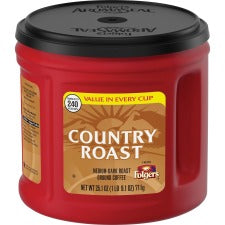 Folgers® Country Roast Ground Coffee - Country Roast - 25.1 oz - 1 Each