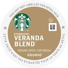 Starbucks Veranda Blend Coffee K-Cup - Compatible with Keurig Brewer - Regular - Veranda Blend - 24 / Box