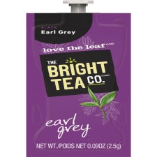 Bright Tea Co Earl Grey Tea - Compatible with Flavia - Black Tea - Earl Grey - 100 / Carton