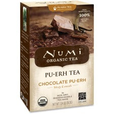 Numi Chocolate Pu-erh Tea - Black Tea - Chocolate - 16 - 16 / Box