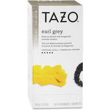 Tazo Earl Grey Black Tea - Black Tea - Earl Grey - 24 Filterbag - 24 / Box