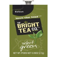 Bright Tea Co Select Green Tea - Compatible with Flavia - Green Tea - 100 / Carton