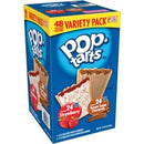 Pop Tarts Toaster Pastries Variety Pack - Strawberry, Brown Sugar Cinnamon - 2.69 lb - 48 / Box