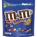 M&M's Caramel Chocolate Candies - Chocolate, Caramel - Resealable Zipper - 2.12 lb - 1 Bag