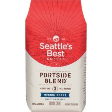 Seattle's Best Coffee Portside Blend Ground Coffee - Level 3 - Regular - Medium - 12 oz Per Packet