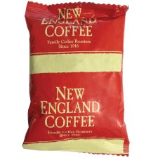 New England Colombian Supremo Coffee - Colombian Supremo, Rich Aroma - 2.5 oz Per Pack - 24 / Carton