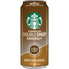 Starbucks Doubleshot Mocha Energy Drink - Ready-to-Drink - Mocha Flavor - 15 fl oz (444 mL) - 12 / Carton