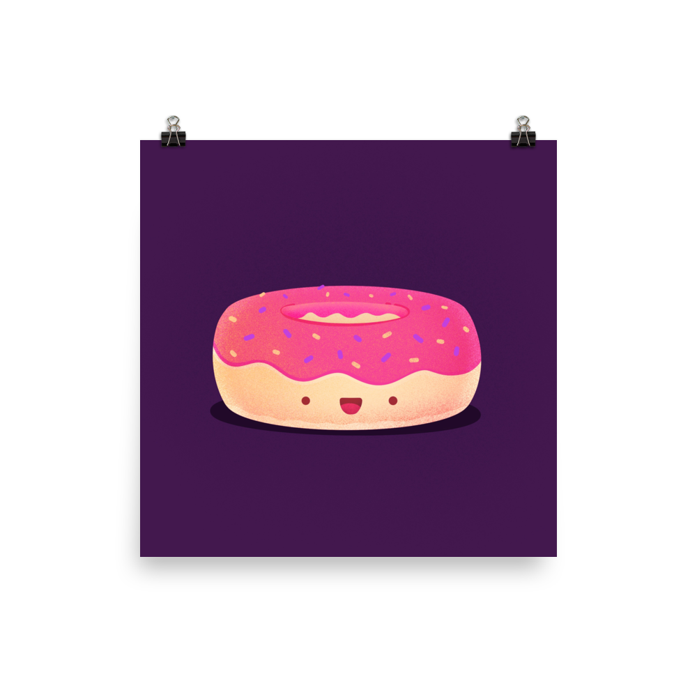 Doughnut - Happy to be eaten
