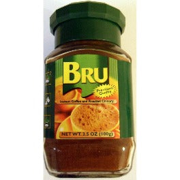 Bru Instant Coffee and Roasted Chicory 100 gm