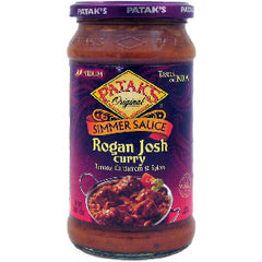 Pataks Rogan Josh Curry Simmer Sauce (Tomato & Cardamom - Medium)-0