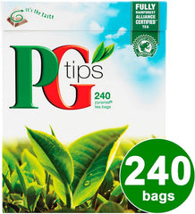 PG Tips 240 Pyramid Tea Bags 750 gm