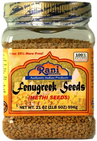 Rani Fenugreek (Methi) Seeds Whole