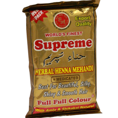 Supreme Herbal Henna Mehndi Natural Brown 150 Grams