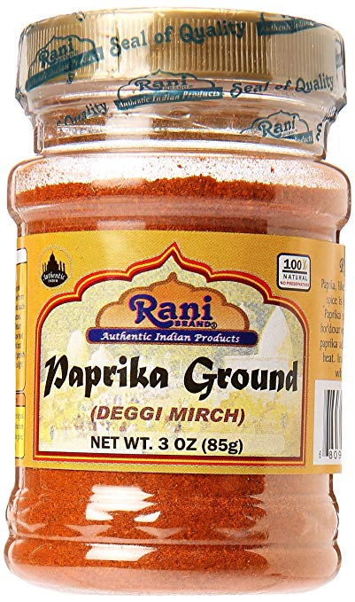 Rani Paprika (Deggi Mirch) Spice Powder, Ground