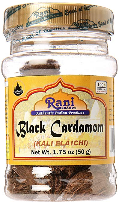 Rani Black Cardamom (Kali Elachi) Indian Spice