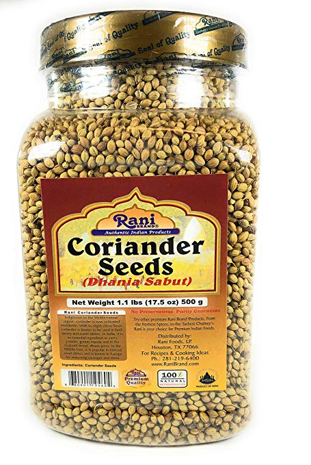 Rani Coriander (Dhania) Seeds Whole, Indian Spice