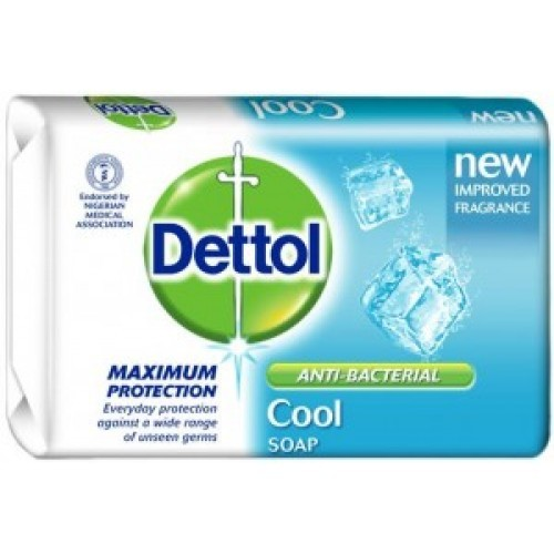 Dettol Anti-Bacterial Cool Soap 120 gm