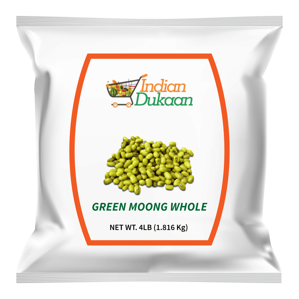 IndianDukaan  Green Moong Whole 4LB