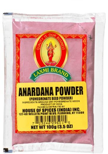 Laxmi Anardana Powder (Pomegranate Powder) 3.5 Oz (100gm)
